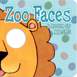 IKids Mask Book Zoo Faces