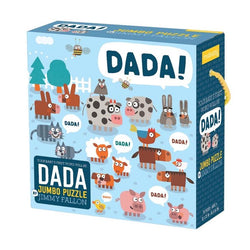 Mudpuppy Your First Words Will be Dadda 25 Jumbo Piece Puzzle