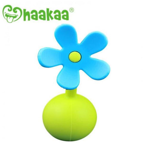 Haakaa Blue Breast Pump Flower Stopper
