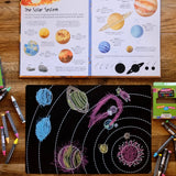 Imagination Starters Solar System Placemat