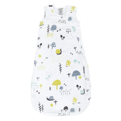 Perlimpinpin Cotton Muslin Sleep Bag Snails 0.7 Tog