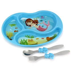KidsFunwares Me Time Meal Set Mermaid