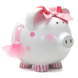 Child To Cherish Ava's Tutu Piggy Bank
