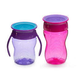 Wow Cup Stages Two-Pack Baby Sippy Cups