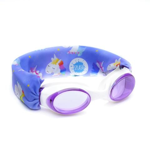 Splash Swim Goggles Rainbow Unicorn