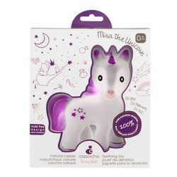 Caaocho Mira The Unicorn Teether Lavender