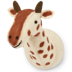 Mudpie Mini Safari Wall Mounts Giraffe