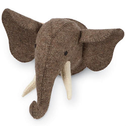 Mudpie Mini Safari Wall Mounts Elephant