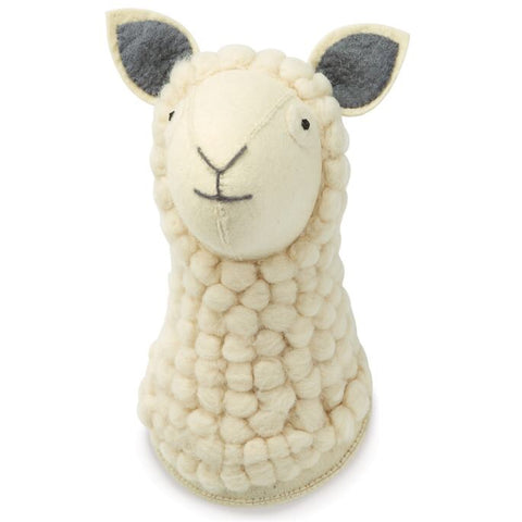 Mudpie Sheep Wall Mount