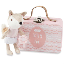 Mudpie Potty Fox Pink