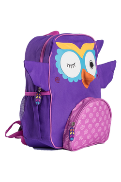 Zoocchini Kids Backpack - Olive the Owl - Purple
