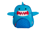 Zoocchini Kids Backpack - Sherman the Shark - Blue