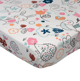 Lolli living Crib Fitted Sheet - Stella Print