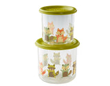 SugarBooger Snack Containers Large Set-of-Two