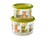 SugarBooger Snack Containers Small Set-of-Two