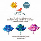 Twinklebelle Grow-With-Me Sun Hat - Tulip