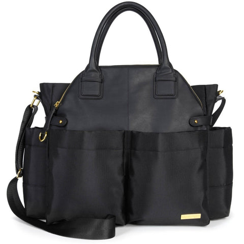 Skip Hop Chelsea Downtown Chic Diaper Satchel - Black