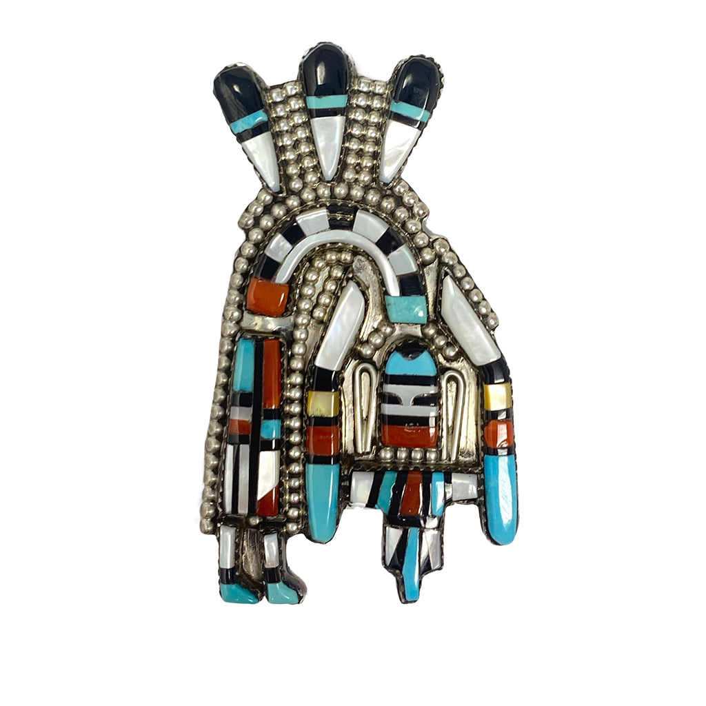 Pin Zuni  Rainbow Man