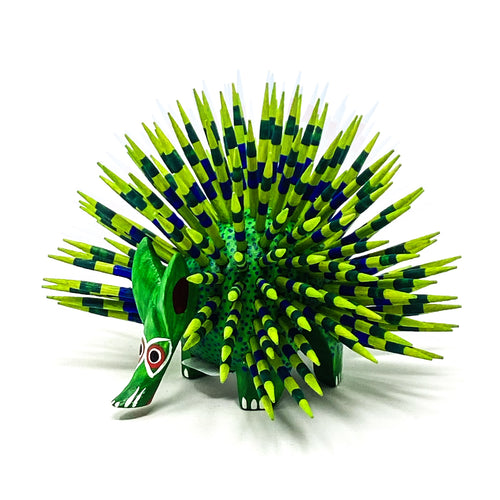 Wood Carving Small Porcupine