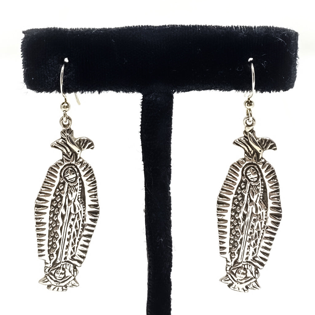 Earrings Guadalupe Silver