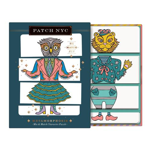 Patch Metamorphosis Mix & Match Character Puzzle