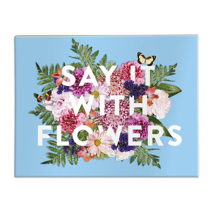 Say It With Flowers Greeting Assortment Notecard
