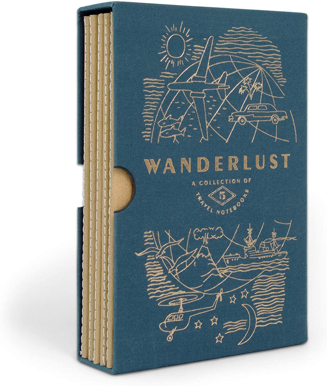 DesignWorks Ink Wonderlust Travel Planner