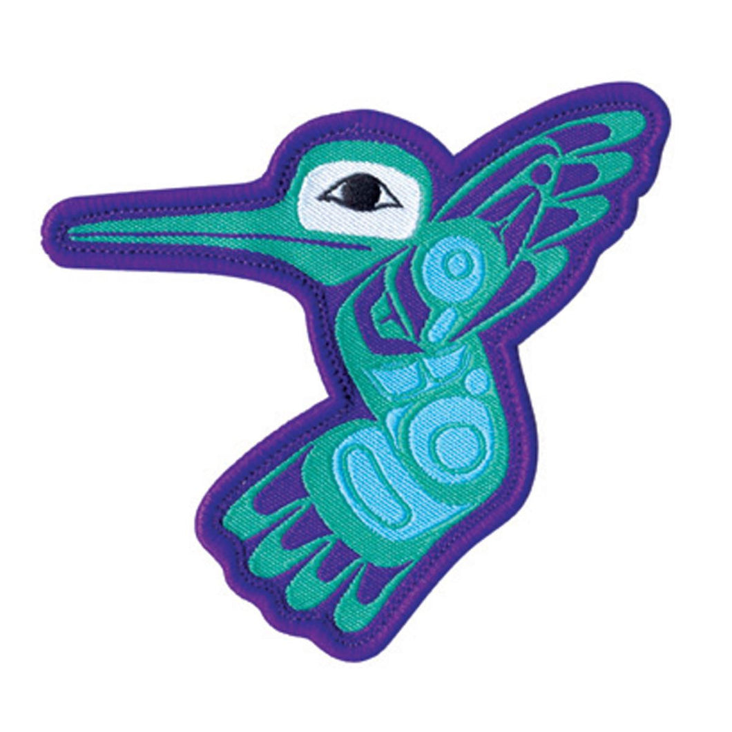 Hummingbird Embroidered Patch