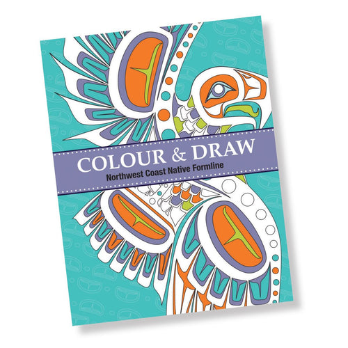 Colour & Draw Northwest Coast Nativr Formline