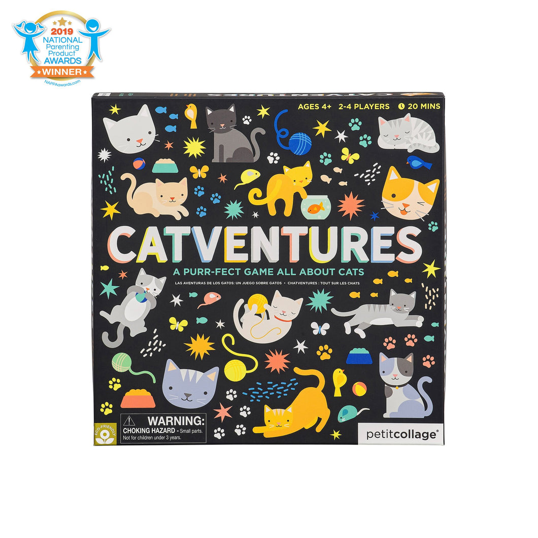 Petit Collage Catventures A Purr-fect Game