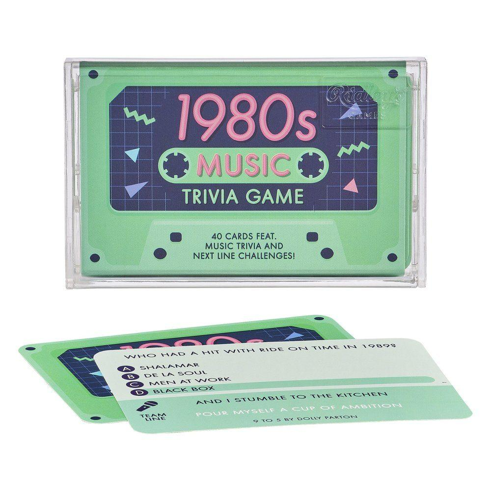 Ridley's Games 1980s Music Trivia Game