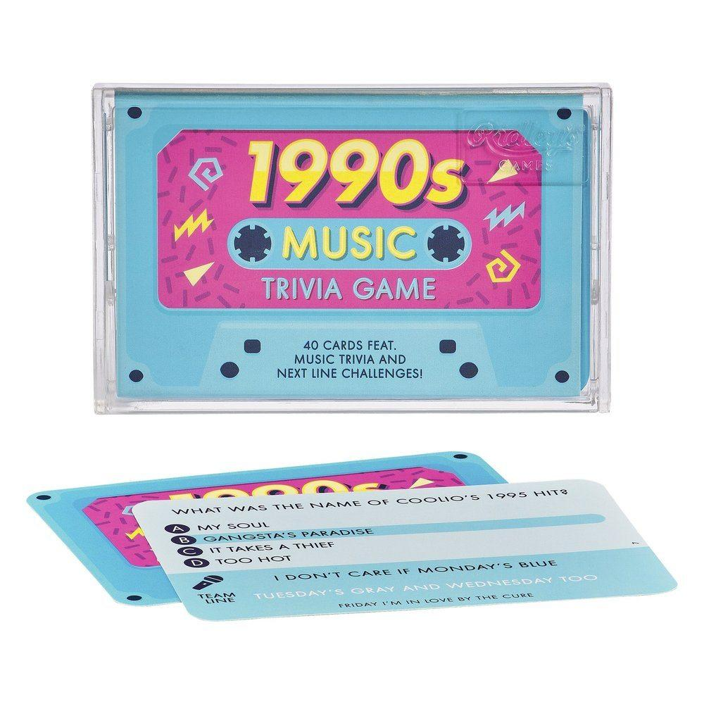 Ridley's Games 1990s Music Trivia Game