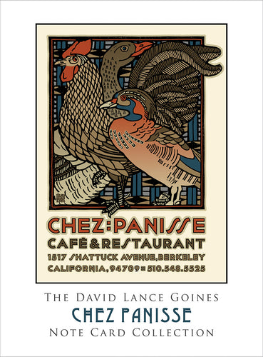 David Lance Goines  Chez Painisse Note Cards