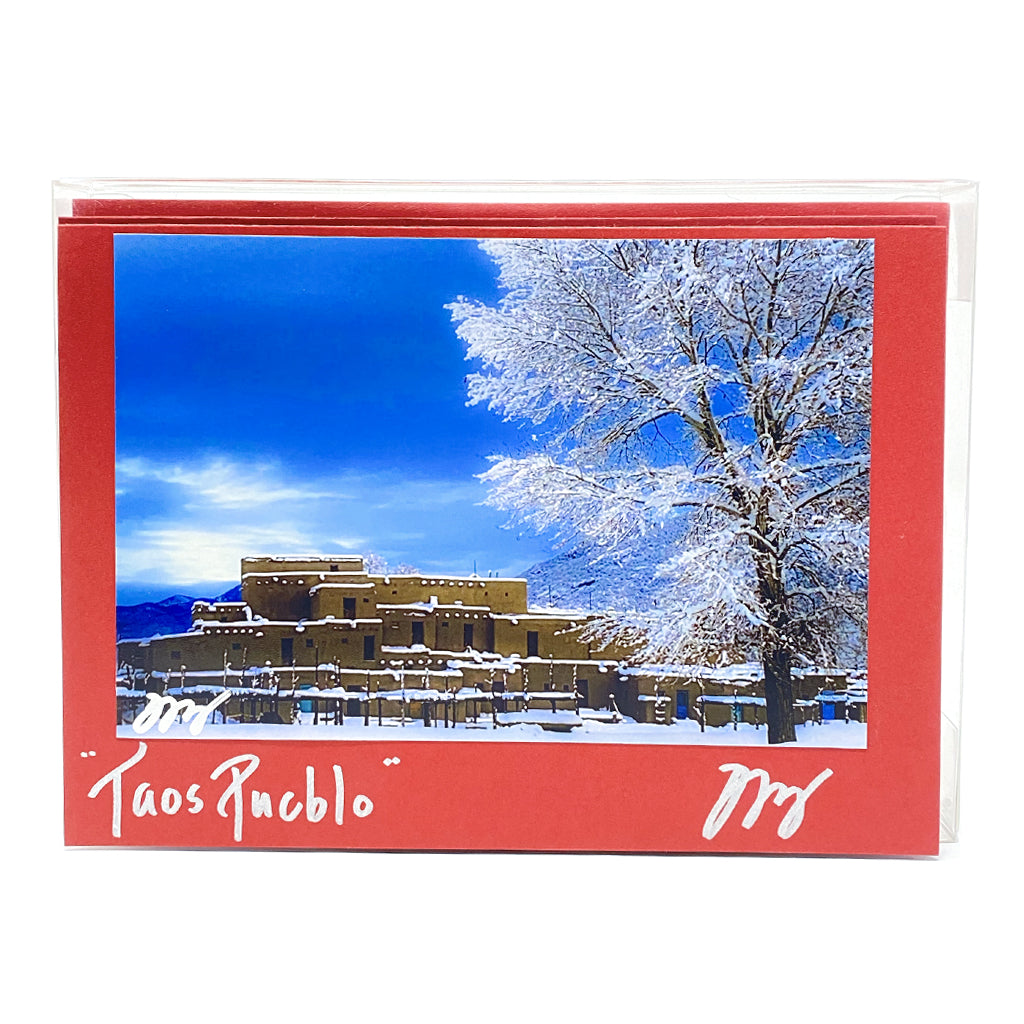 Taos Pueblo Christmas Boxed Cards