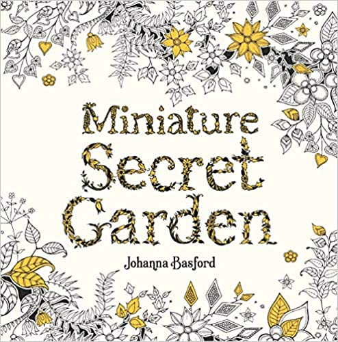 Miniature Secred Garden Coloring Book