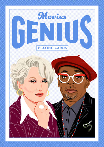 Movie Genius Playing Cards