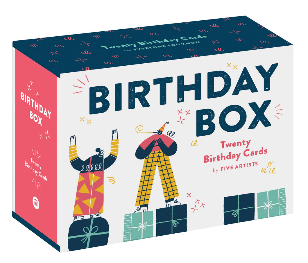 20 Birthday Cards Box