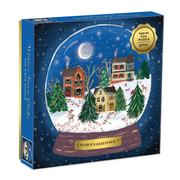 Puzzle Winter Snow Globe