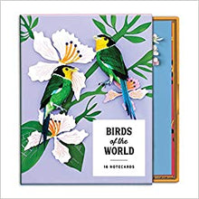 Boxed Notecards Birds of the World