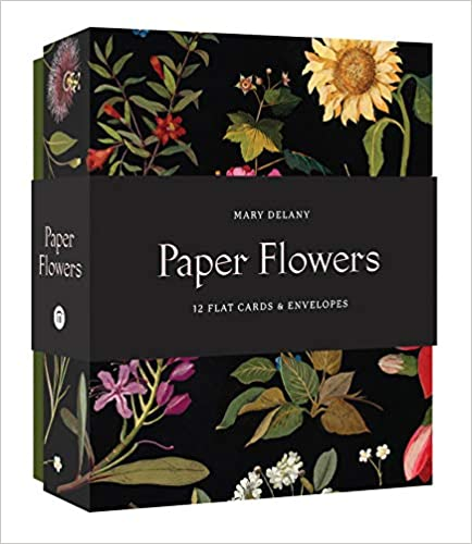 Boxed Notecards Paper Flowers