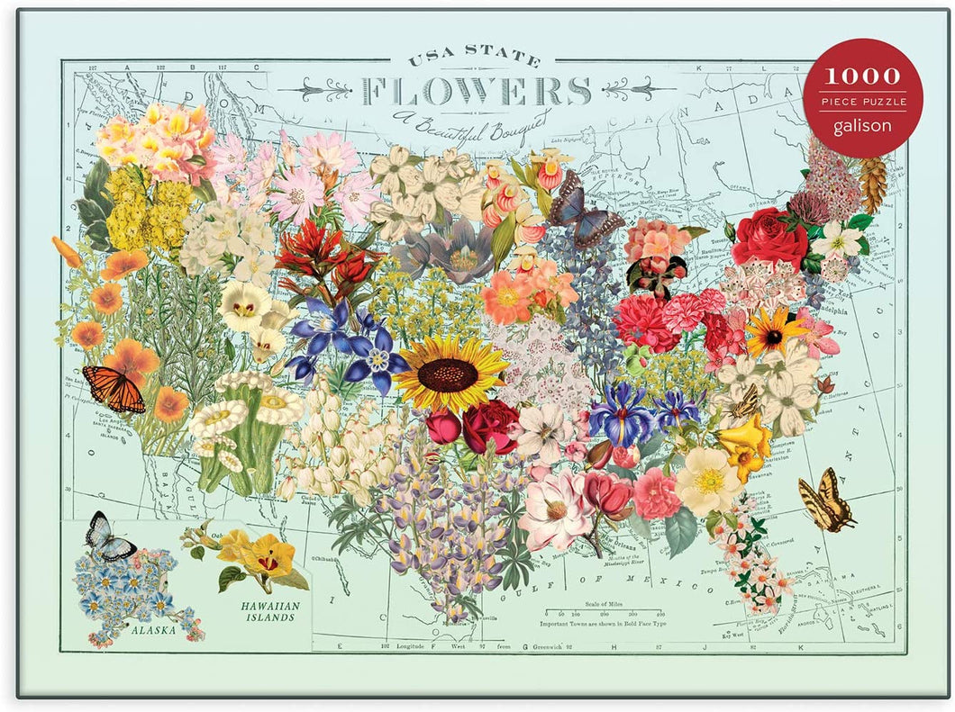 Puzzle  USA State Flowers
