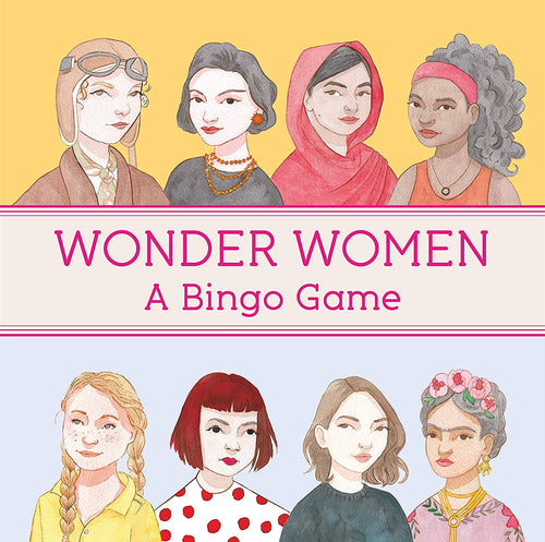 Wonder Women Bingo Game