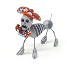 Assorted  Day of Dead Dog Figurine