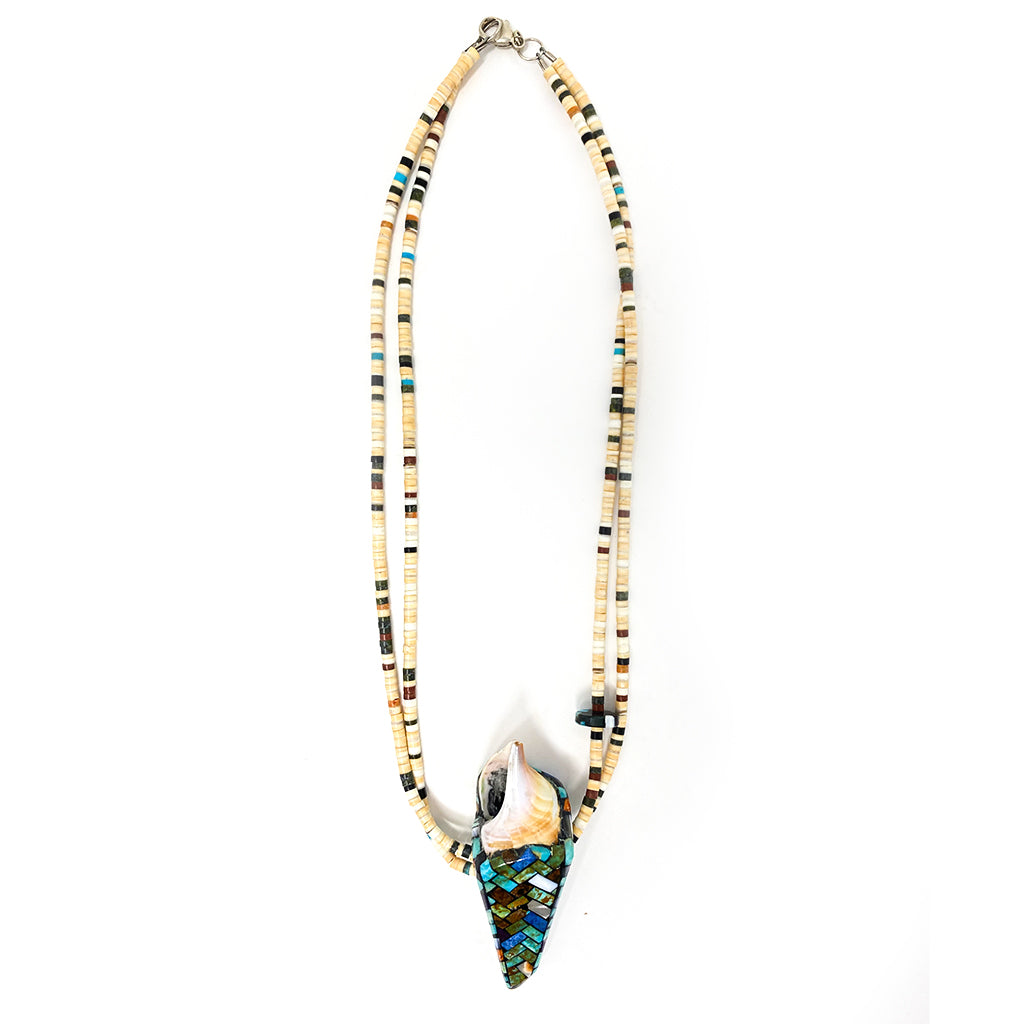 Necklace Mosaic Shell