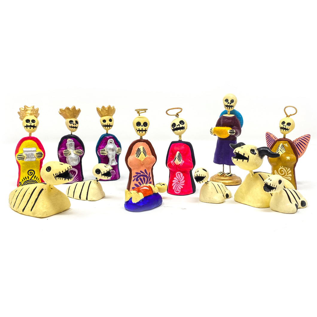 Day of the Dead Nativity Set