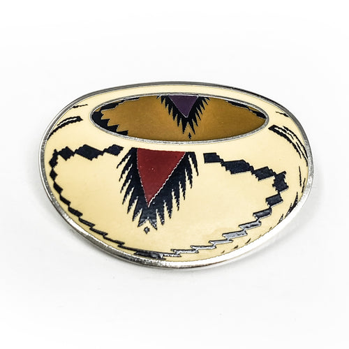Basket Pin from Autry Collection