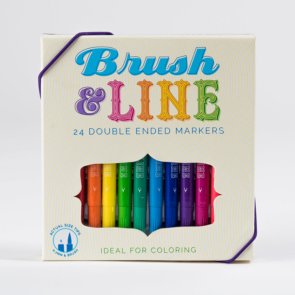 Brush & Line Markers