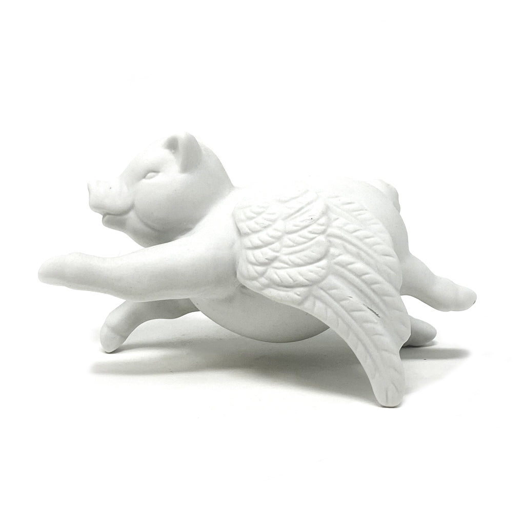 Ceramic Flying Pig