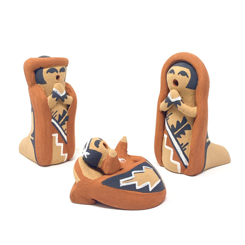 Jemez Pueblo Nativity Set