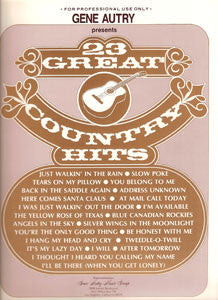 Gene Autry Presents 23 Great Country Hits